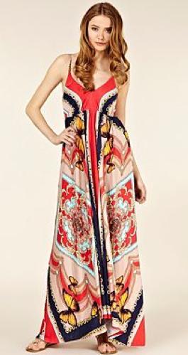 Butterfly Scarf Print Maxi Dre  Day dresses  Dresses  Women  Debenhams Ladies Silk Scarves