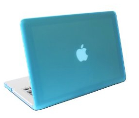 Amazon.com: iPearl mCover Hard Shell Case for Model A1278 13-inch Regular display Aluminum Unibody MacBook Pro - AQUA: Computers & Accessories