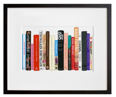 Ideal Bookshelf 505: Fashion, by Jane Mount | 20x200
