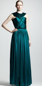 Lanvin_Ruched_Silk_Gown