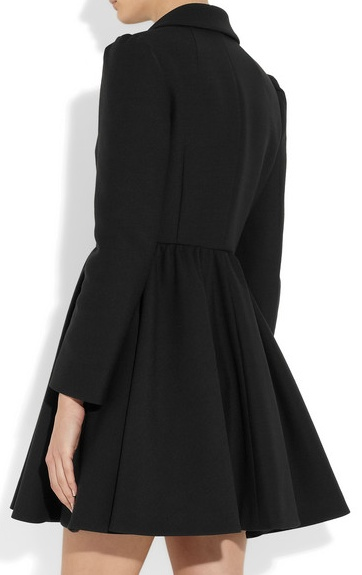 1844cfccfde4 Daily Covet: RED Valentino Twill Coat   little black sweats