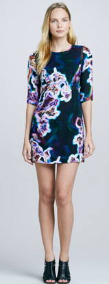 Milly_Printed_Sheer-Inset_Dress_-_Neiman_Marcus