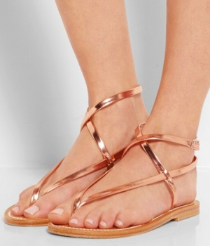 K_Jacques_St_Tropez _ Delta_metallic_leather_sandals _ NET-A-PORTER_COM