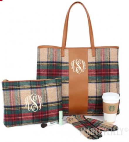 monogrammed_plaid_tote_bag___marleylilly