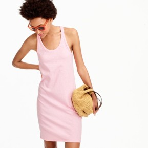Racerback tank dress; jcrew.com