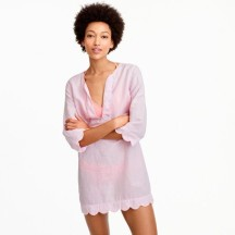 Scalloped tunic; jcrew.com